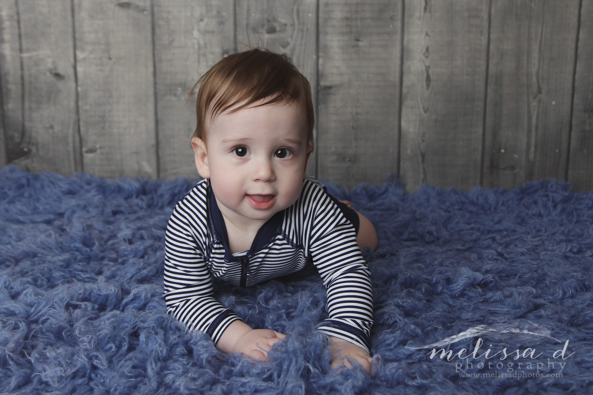 Fort Worth Baby Photographer tummy time