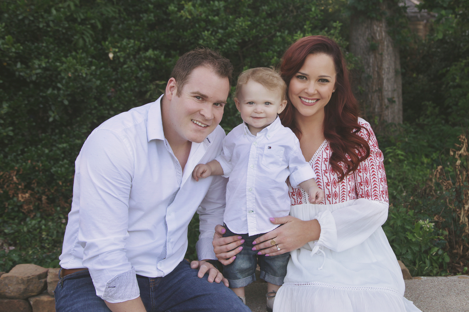Ft. Worth Child Photographer one year family