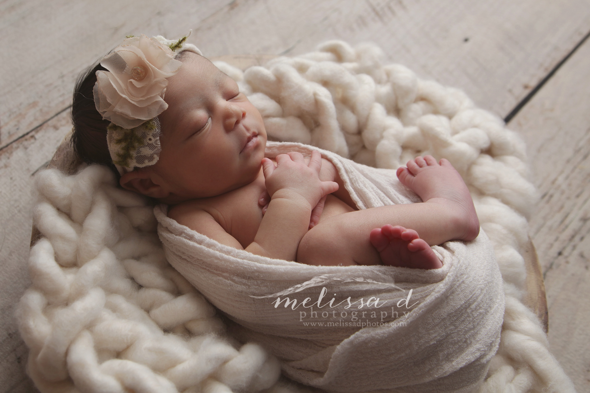 Ft. Worth Newborn Photographer knitted prop