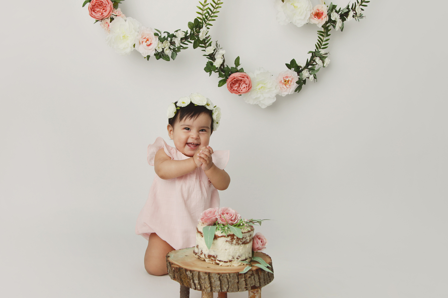 Fort Worth Baby Photographer cake smash