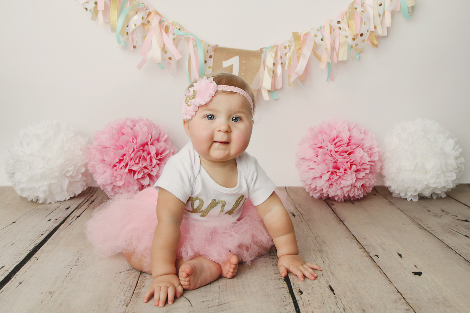 Fort Worth Baby Photographer pink tutu