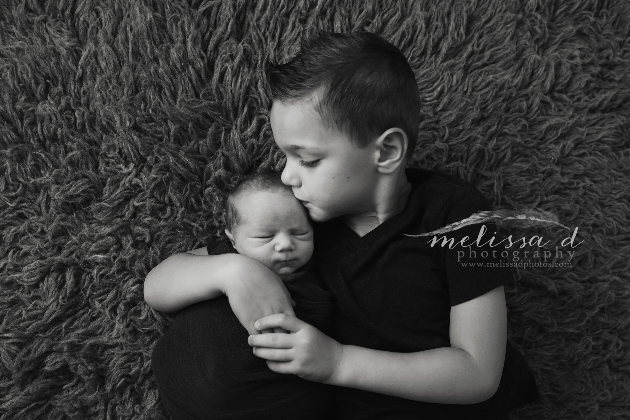 Fort Worth Newborn Photographer siblings