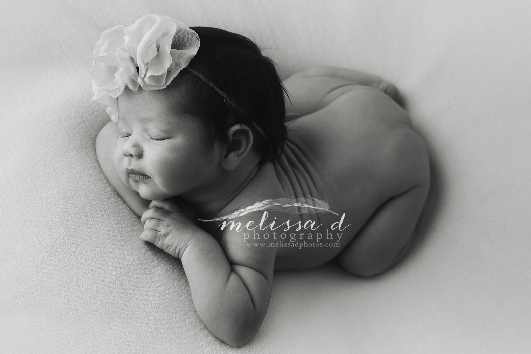 Dallas/Fort Worth Newborn Photographer black and white