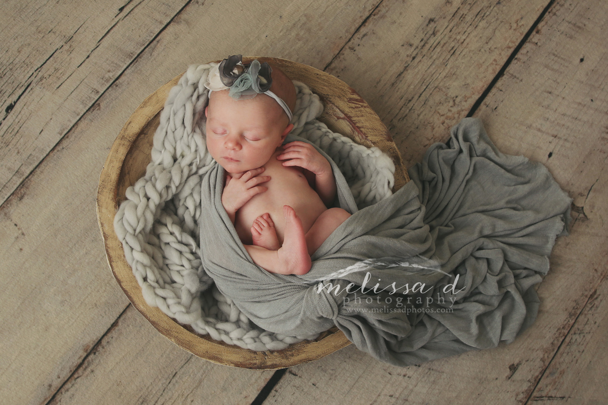 Fort Worth Newborn Photographer wood bowl
