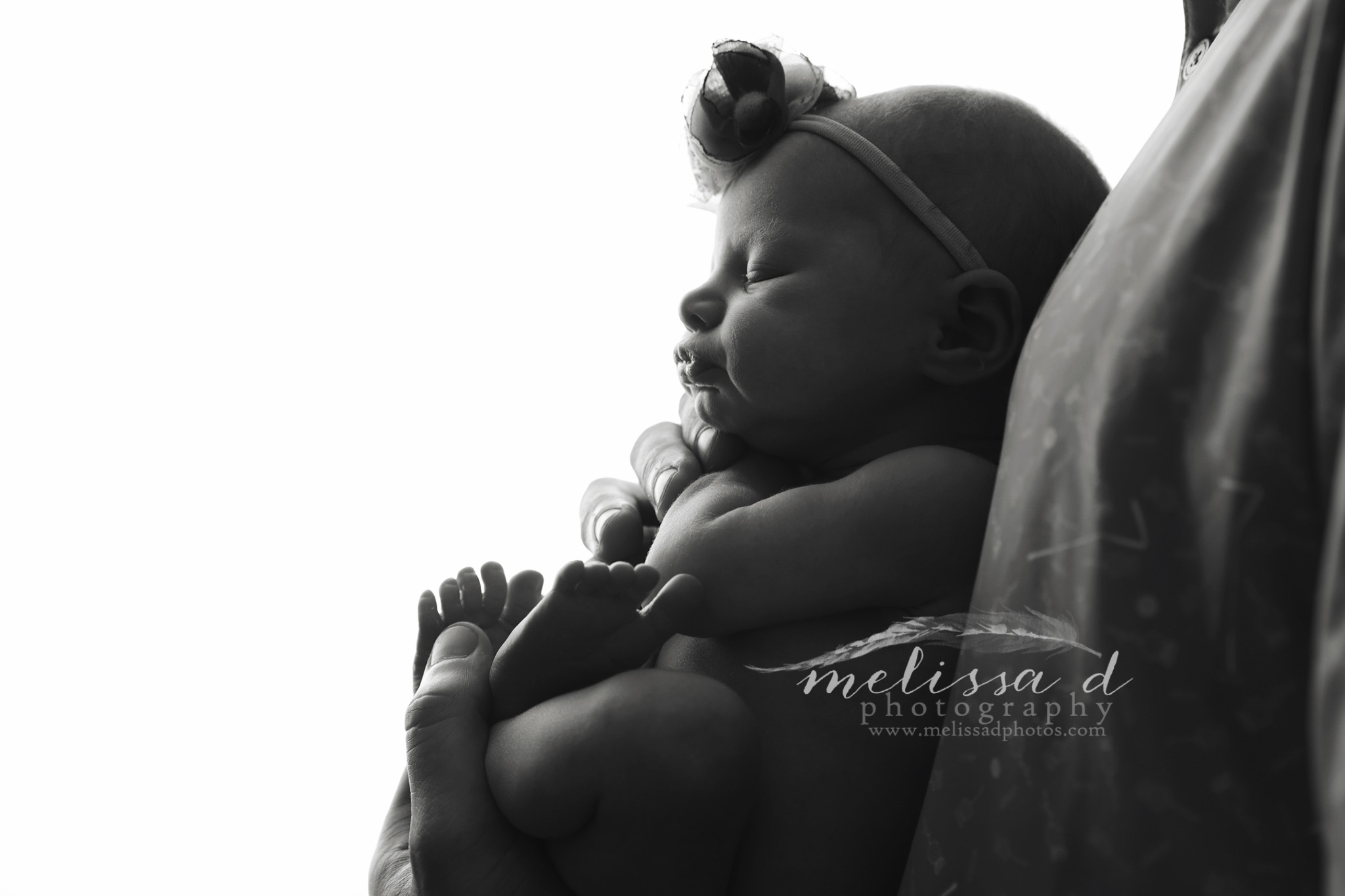 Fort Worth Newborn Photographer silhouette