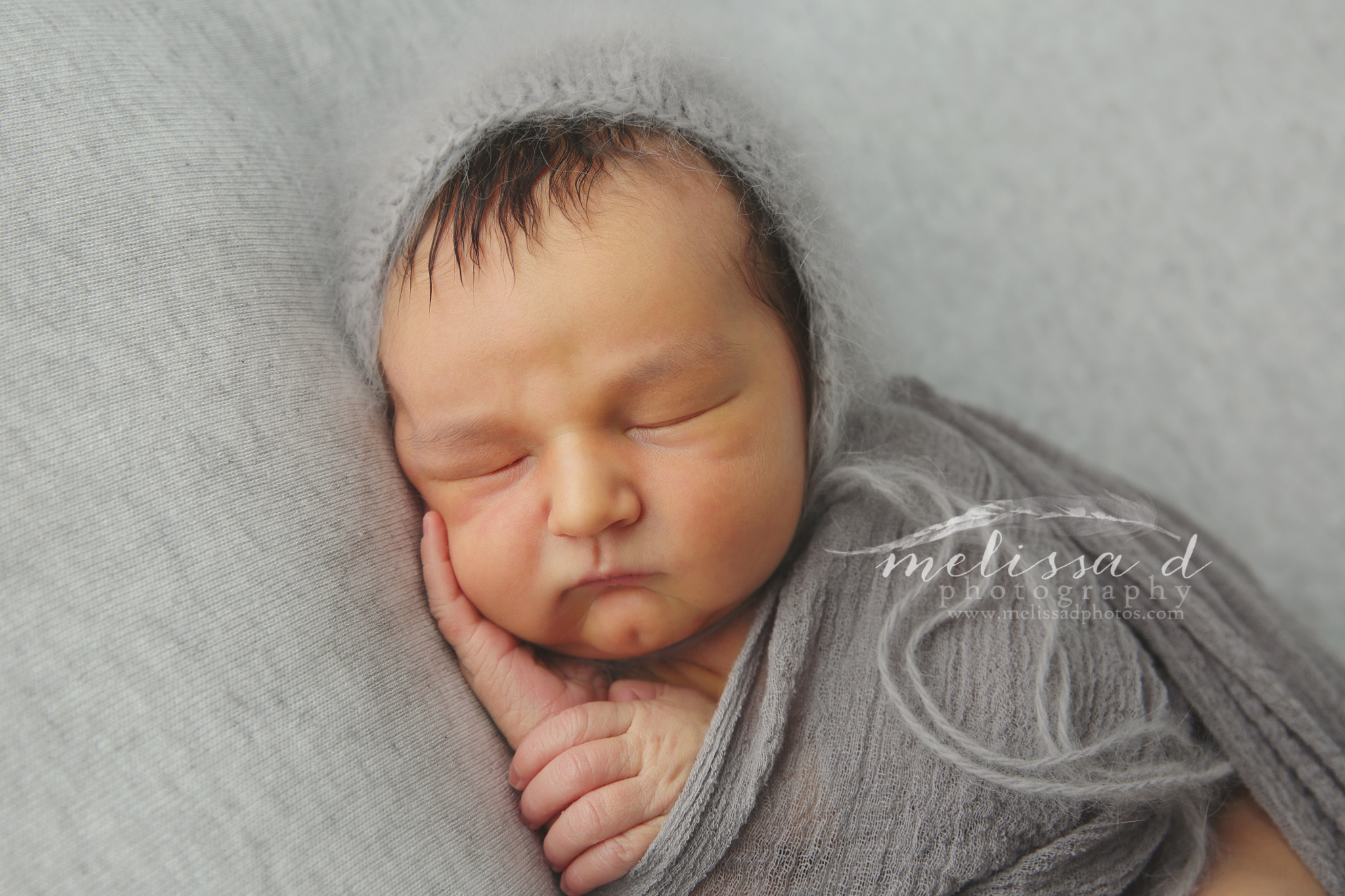 Dallas Newborn Photographer knitted hat