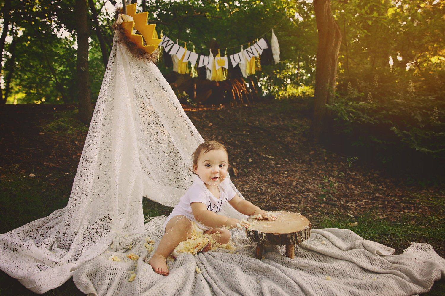 Grapevine Baby Photographer