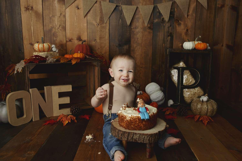Colleyville Cake smash Photographer