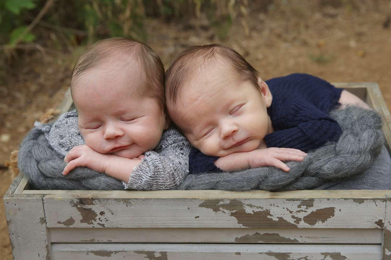 Ft. Worth Twin Newborn Photographer